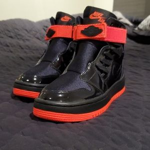 Brand New Nike Air Jordans - Red and Black